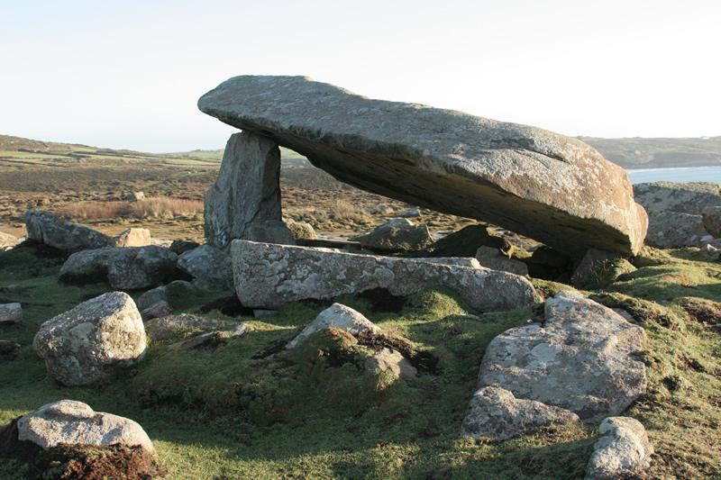Cromlech at St Davids Head