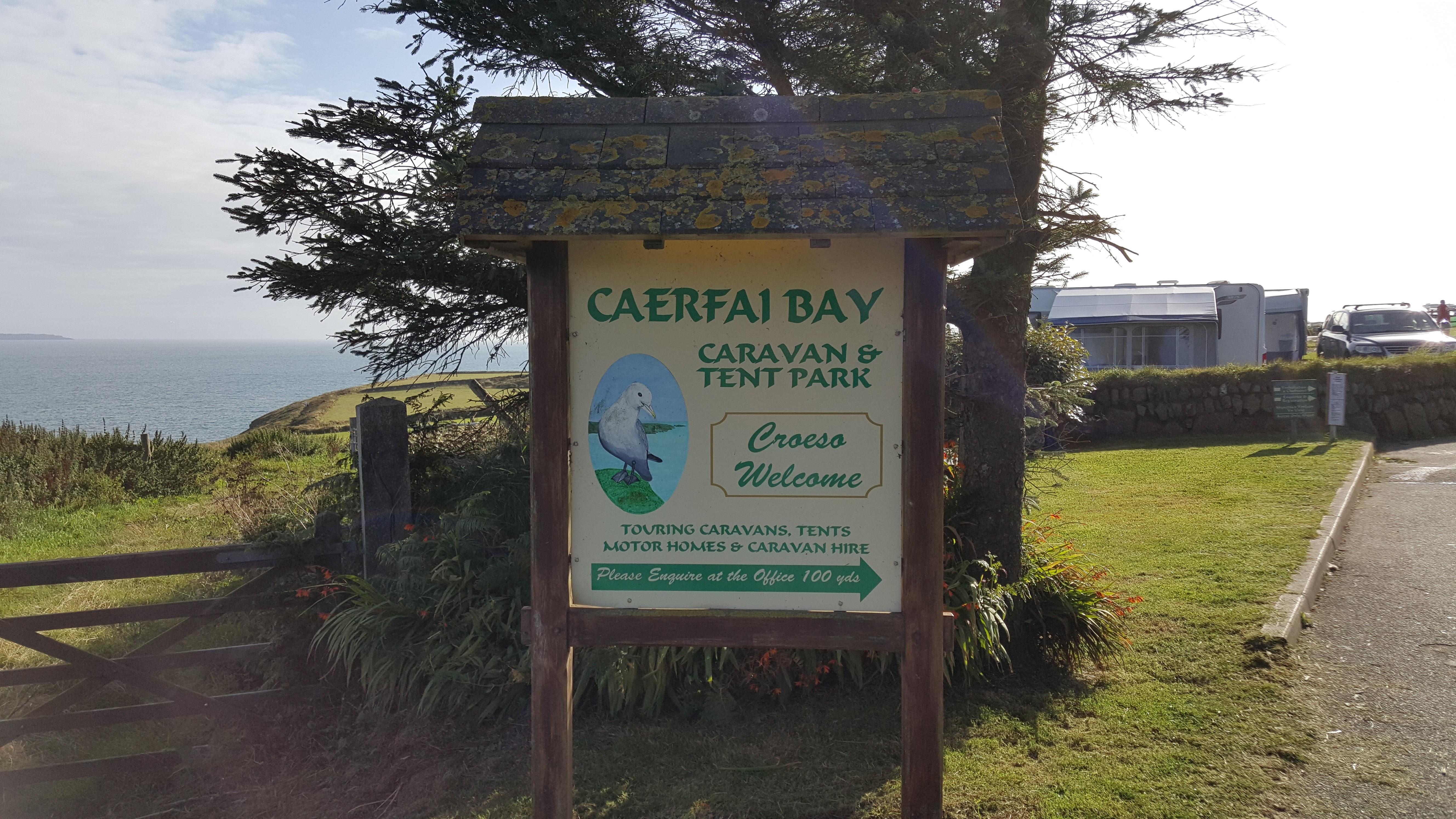 Welcome to Caerfai Bay