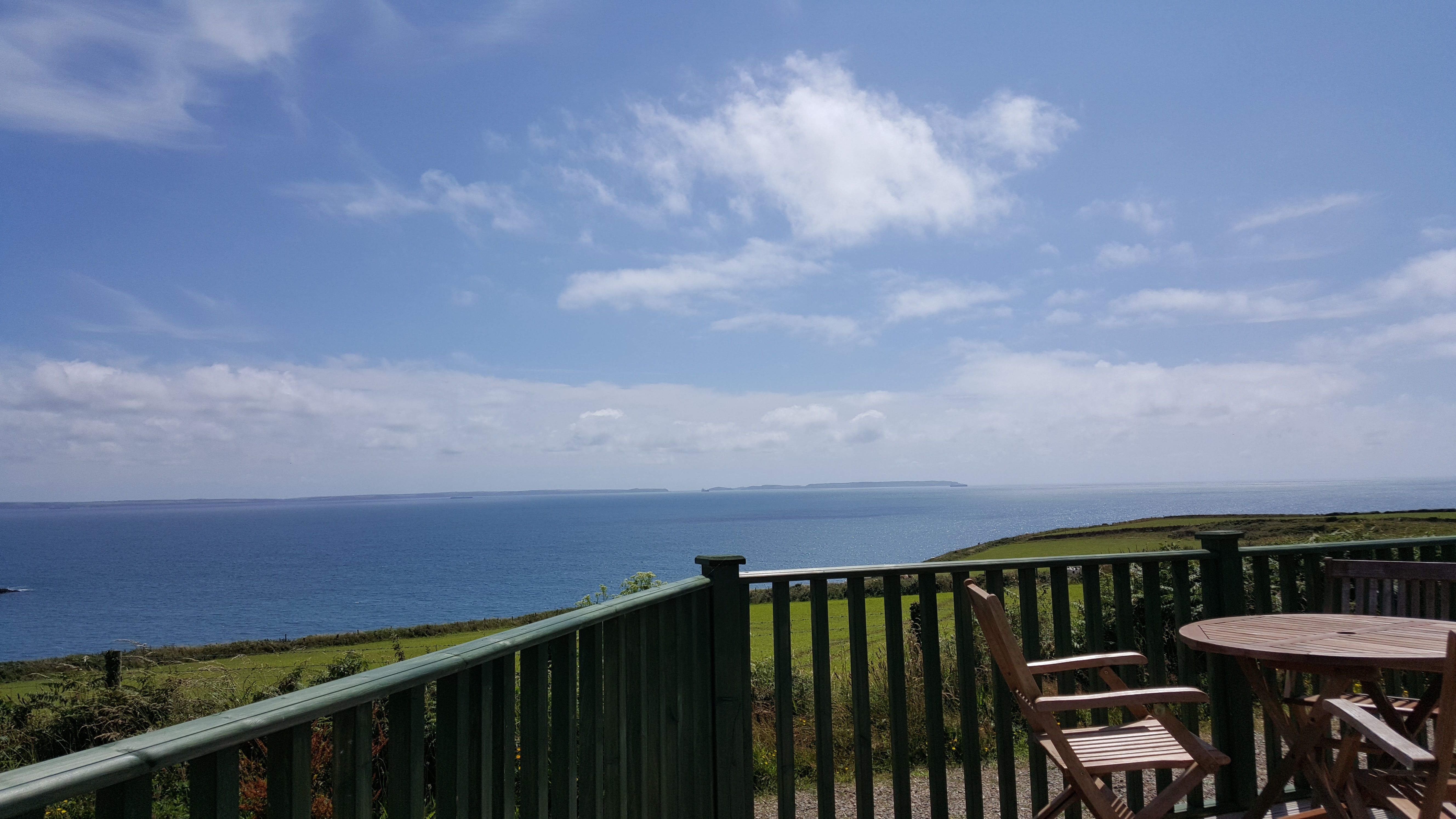Sea view from the Lodge